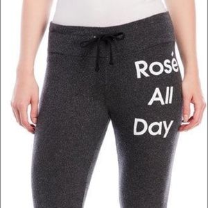 Wildfox Rose all day sweatpants